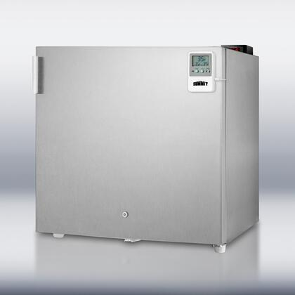 Summit FFAR2L7CSSMEDDT MEDDT Series Compact Refrigerator with 1.8 cu. ft. Capacity in Stainless Steel
