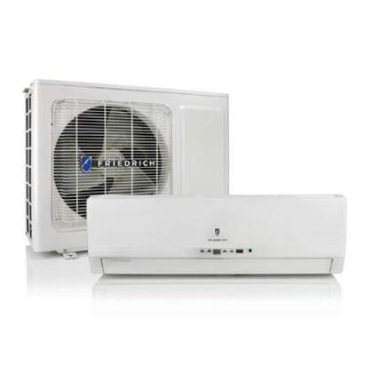 Friedrich Breeze BR1224W3A Mini Split Air Conditioner Cooling Area,