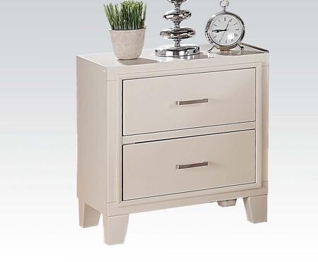 Acme Furniture 22543 Tyler Series Rectangular Wood Night Stand