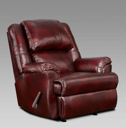 Chelsea Home Furniture 2600MB Verona IV Series Transitional Fabric Wood Frame Rocking Recliners