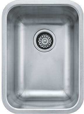 Franke GDX110 Grande Series Undermount Single Bowl Sink in Stainless Steel