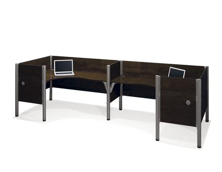 Bestar Furniture 100857C Pro-Biz Double back to back L-desk workstation
