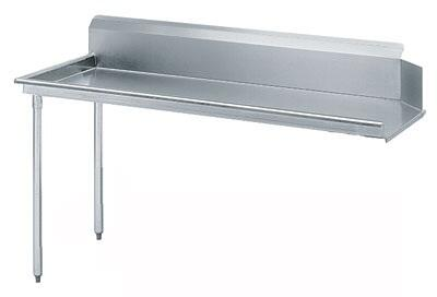 "Advance Tabco DTC-S70-48 47"" Standard Clean Straight Dishtable"