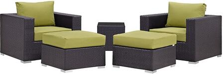 Modway EEI2201EXPPERSET Rectangular Shape Patio Sets