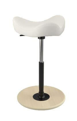 "Varier MOVE 2600 FAME 19"" - 27"" Sit-Stand Chair with Fame Upholstery,"
