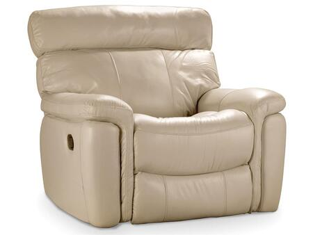 Taupe Motion Glider Recliner
