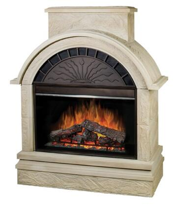 Dimplex EMPOSTN36KIT Scottsdale Series  Electric Fireplace