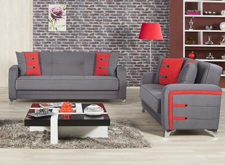 Casamode DESBLSTGY Living Room Sets