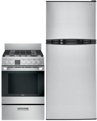 Haier 999743 3 piece Stainless Steel Kitchen Appliances Package
