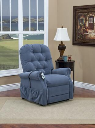 MedLift 2555AAW Contemporary Fabric Wood Frame  Recliners