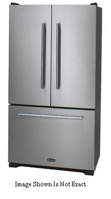 Heartland HLTXT36FDBLK Toledo Series  French Door Refrigerator with 19.8 cu. ft. Capacity in Black