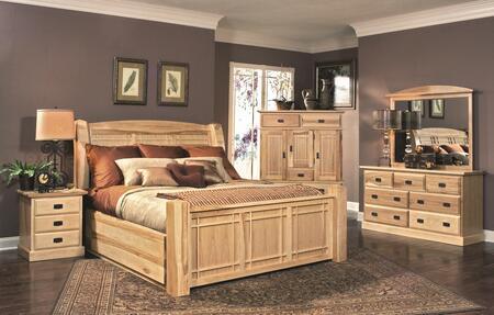 AAmerica AHINT5071Q6P Amish Highlands Queen Bedroom Sets