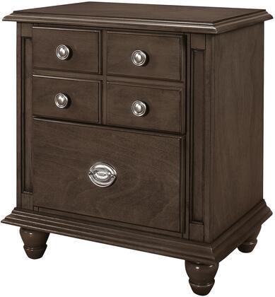 Glory Furniture G5905N  Rectangular Veneers Night Stand