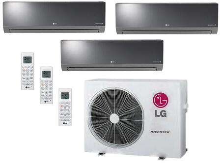 LG 704078 Triple-Zone Mini Split Air Conditioners