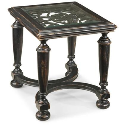 Ambella 02197900001 Traditional Rectangular End Table