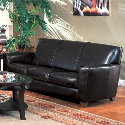 Coaster 600011  Stationary Bycast Leather Sofa