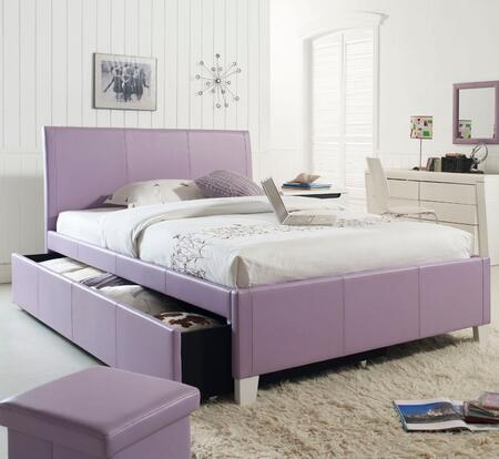 Fantasia Lavender Bed with Trundle