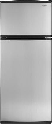 Whirlpool W8RXNGMBS Freestanding Top Freezer Refrigerator with 17.6 cu. ft. Total Capacity