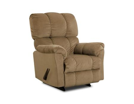 Chelsea Home Furniture 1893204172 Michigan Series Transitional Top Hat Coffee Wood Frame  Recliners