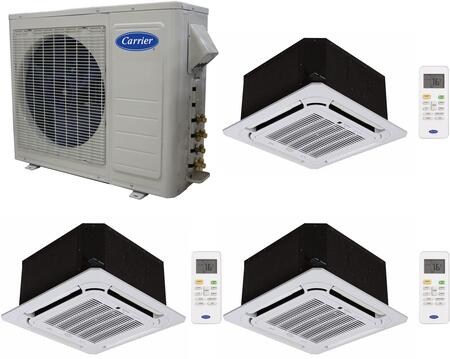 Carrier 701137 Performance Triple-Zone Mini Split Air Condit