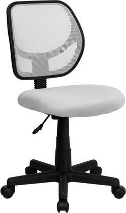 "Flash Furniture WA3074WHTGG 21.5"" Contemporary Office Chair"