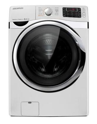 "Samsung Appliance WF455ARGSWR 27""  Front Load Washer with 4.5 cu. ft. Capacity 15 Wash Cycles 1300 RPM Steam Cycle 