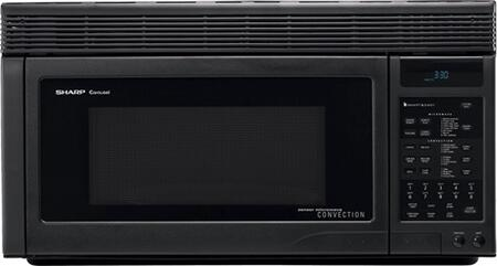 Sharp R1875T 1.1 cu. ft. Over the Range Microwave Oven with 850 Cooking Watts, in Black