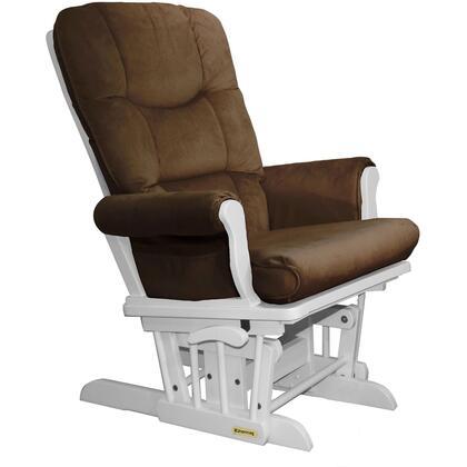 Shermag 37537KD1501 White Super Comfortable Glider