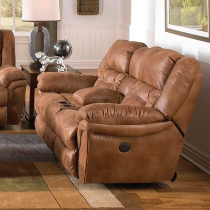 Catnapper 4259205129 Joyner Series Faux Leather Reclining with Metal Frame Loveseat