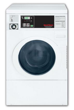 Speed Queen SFNBCFSP  White 2.84 cu. ft. Front Load Washer