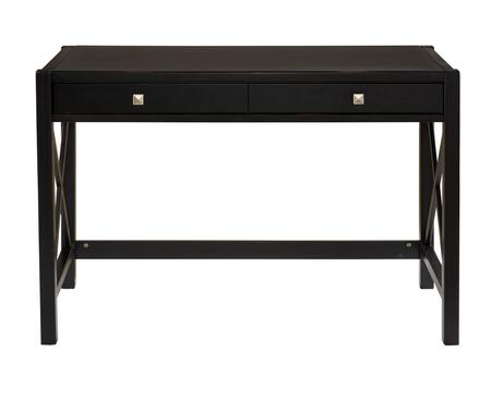Linon 86105C12401KDU Anna Series Computer/Writing  Solid and durable construction from pine and painted MDF Desk