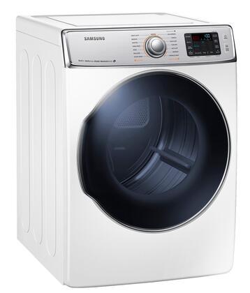 """Samsung Appliance DV56H9100GW 30"""" 9.5 cu. ft. Gas Dryer, in White"""