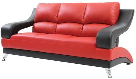 Glory Furniture G246S  Stationary Faux Leather Sofa