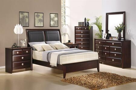 Accent HA870405BEDROOMSET4 Arlington California King Bedroom