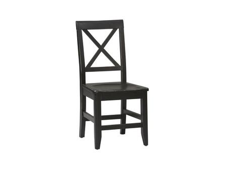 Linon 86100C12401KDU Anna Series Contemporary No Solid Pine Frame Dining Room Chair