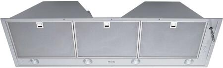 Miele DA 22x0 Built-In Cabinet Insert Hood with 10-ply Stainless Steel Grease Filters, Intensive Mode, and Halogen Lighting, in Stainless Steel