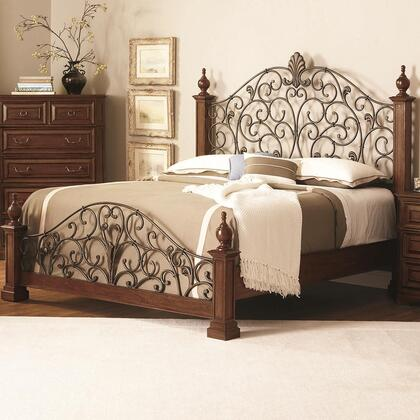 Coaster 202620Q Edgewood Series  Queen Size Poster Bed