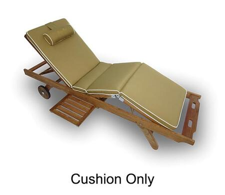 "Royal Teak Collection CUSBX 74"" Sun Bed Cushion in"