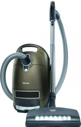 Miele 41G Complete C3 Canister Vacuum with Low-Noise 1200W Vortex Motor, 6 Power Settings, +/- Controls, Lightweight Construction, and 36 Foot Operating Radius in