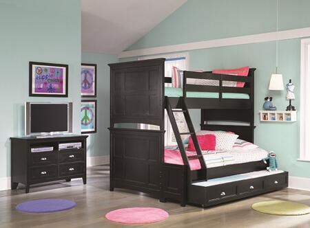 Magnussen Y187470K2 Bennett Series Childrens Full Size Bunk Bed