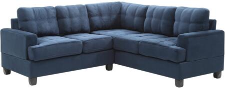 Glory Furniture G510BSC G510 Series Stationary Suede Sofa