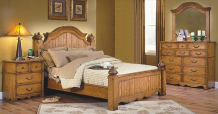 New Classic Home Furnishings 4431EBDMN Hailey King Bedroom S