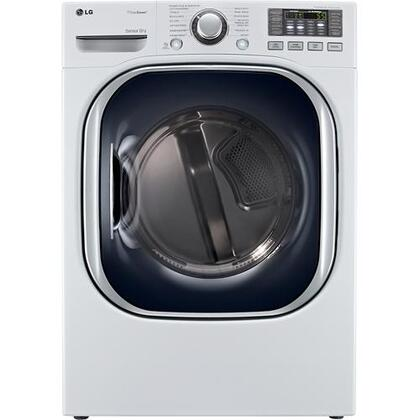 "LG DLEX4070W 27"" 7.4 cu. ft. Electric Dryer, in White"