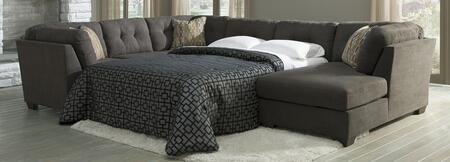 Benchcraft 19700387117 Delta City Series Sleeper Microfiber Sofa