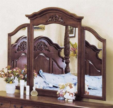 Yuan Tai 3806M Alexia Poster Series Trifold Landscape Dresser Mirror