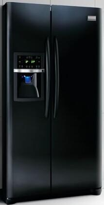 Frigidaire FGHS2667KB Gallery Series Side by Side Refrigerator with 26 cu. ft. Capacity in Black Textured