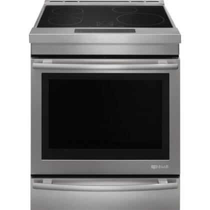 zoom in jenn-air jis1450ds 30-inch induction range