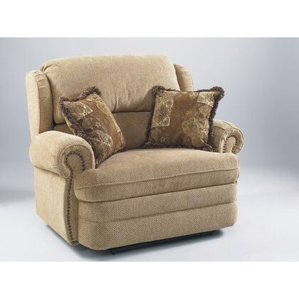 Lane Furniture 20314400317 Hancock Series Traditional Fabric Wood Frame  Recliners