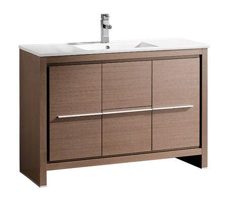"""Fresca FCB8148XXI Allier 48"""" Modern Bathroom Cabinet w/ Sink"""