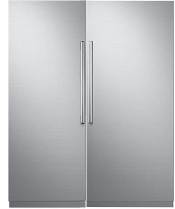 Dacor 772320 Modernist Side-By-Side Refrigerators